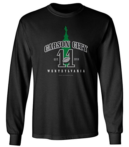 Carson City, Wentzylvania Long Sleeve T-Shirt - Machine Washable