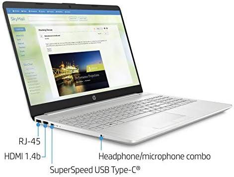 "2021 HP Flagship 15.6"" HD Laptop Computer, AMD Ryzen 3 3250U up to 3.5GHz (Beat Intel i5-7200U), 16GB RAM, 128GB SSD+1TB HDD, HD Webcam,Remote Work,WiFi, Bluetooth 4.2, HDMI, Win10 S, w/Marxsol Cables WeeklyReviewer"