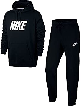 Nike M NSW TRK Suit FLC GX Chándal, Hombre, Negro (Black ...