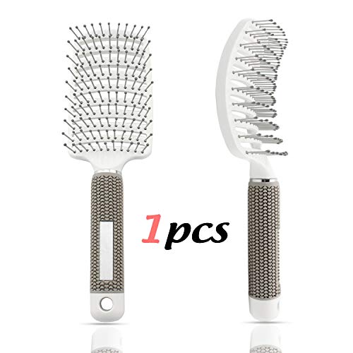 IBEET Vent Brush,Flex Vented Detangling Styling Hair Brush for Long Thick Curly Hair, Massage Brush for Women