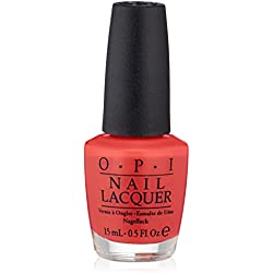 OPI Nail Polish, Cajun Shrimp, 0.5 fl. oz.