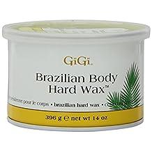 Gigi Tin Brazilian Body Hard Wax 14oz (3 Pack)