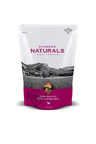 Diamond Naturals Puppy Natural Biscuit Dog Treat with Chicken Protein, 8oz