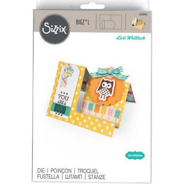 Sizzix Bigz Card Die ~ Card Side Step!!!