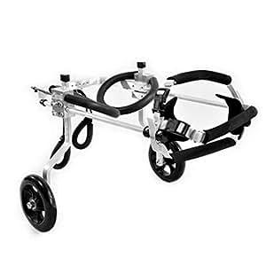 Silla de ruedas para perros ajustable Ruedas Silla de ruedas para perro - Para la mayoría de ...