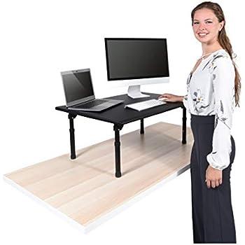 Desktop Standing Desk Converter - Ergonomic Desk Converter Riser Stand for Sit-to-Stand Work (32