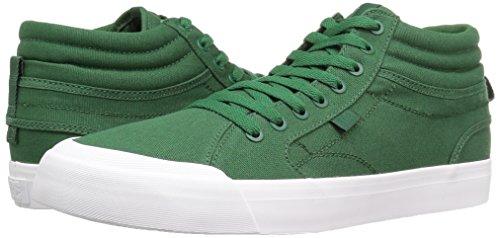 DC Men's Evan Smith Hi Skateboarding Shoe, Dark Green, 11.5 M US