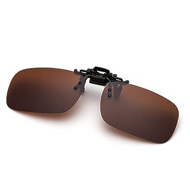 Hombre y Mujer Gafas de sol polarizadas Clip en Gafas de Sol ...