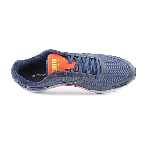 PUMA PUMA Running Mens Speed yellow peach Bioweb Running Blue Mens Speed Bioweb Shoes aq1fwIxrq