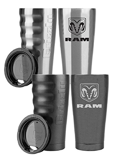 Ram Grizzly Grip 20 oz Tumbler (Charcoal)