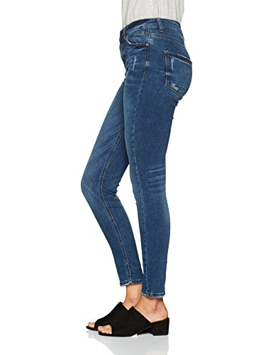 Vaqueros Wash Azul Blue Medium Mujer Skinny para 902 Esprit Rdw0gR