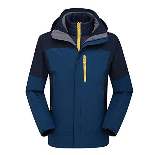 Dark warm windproof jacket green HOME down men's XYL jacket two jacket piece Windproof liner outdoor warm H67fnxP