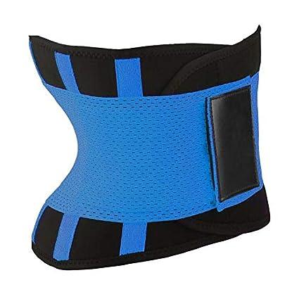 creatspaceDSF Comfortable Women Body Shaper Slimming Shaper Belt Sport Ladies Waist Trainer Cincher Control Burning Body Tummy Belt M, Black
