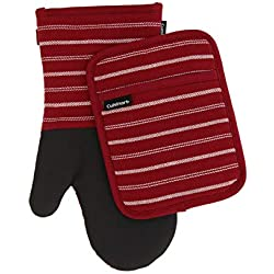 Oven Mitts and Potholder Set