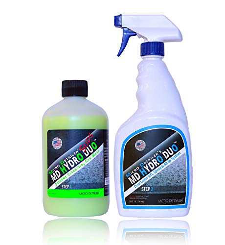 Micro Detailer Hydro Duo - Dual Layer Sio2 Ceramic Spray & Rinse Car Paint Protectant System