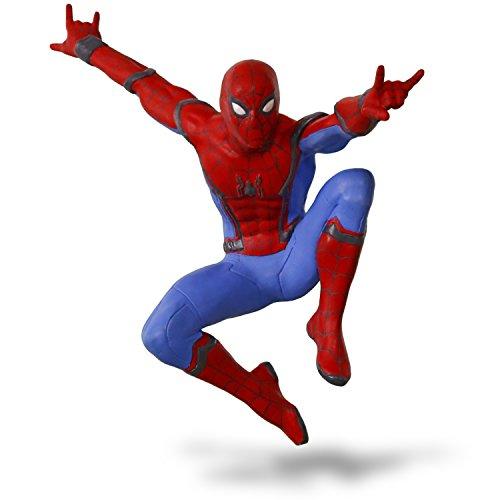 Hallmark Keepsake 2017 Spider-Man: Homecoming A New Kind of Hero Christmas Ornament]()