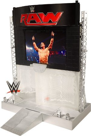 WWE Ultimate Entertainment Stage Playset by Prannoi