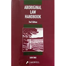 Aboriginal law handbook