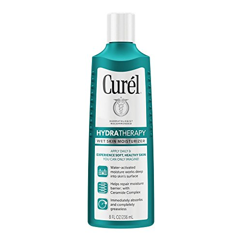 Curel Hydra Therapy Wet Skin Moisturizer, 8 fl oz
