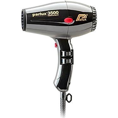 Parlux-3500-Supercompact-Secador-de-pelo-profesional-color-negro