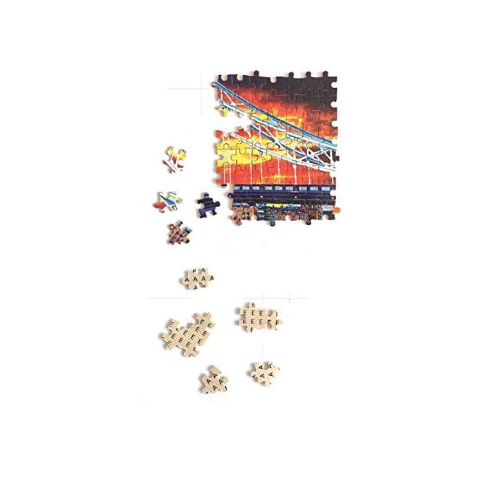 41myYgMTG8L ★ rompecabezas de eucalipto de alta calidad, de alta calidad.de corte ultra-fino de color en la impresora Epson 8 le permite enrollar o levantarla sin distraer a él. ★ El color es brillante y hermoso, la superficie tiene una película protectora, y es a prueba de sudor y duradero.Hay cartas y particiones en la parte posterior para reducir la dificultad.Cajas de cartón con separadores que ayudan a ordenar el rompecabezas. ★ Ejercicio capacidad de pensamiento espacio, manos sobre la capacidad.Mejorar la concentración de su hijo y experimentar la sensación de éxito.Los adultos y los niños pueden hacerlo juntos, un juguete interactivo gran padre-hijo.