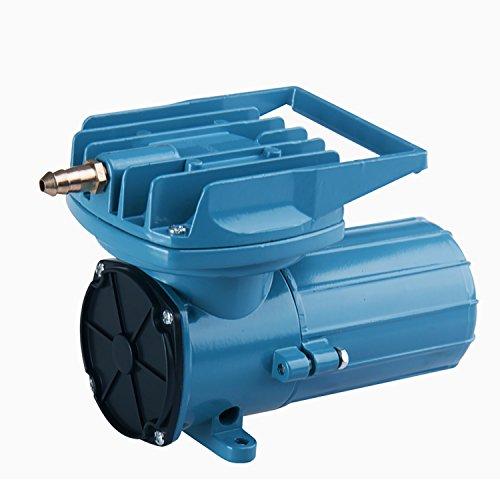 HEALiNK DC 12V 38LPM/Min 602GPH Aquarium Air Pumps Compressor Aerator 18W for Aquaculture Fish Pond