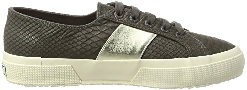 Basso Sneaker A pusnakew Coffee Donna Brown Superga 2750 Collo wqgfaRnXx
