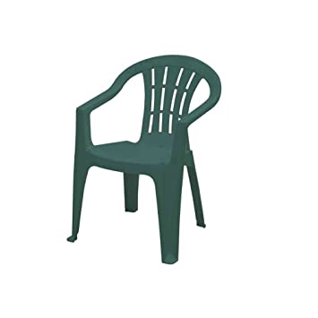 56 58 En Cuba Vert Fauteuil Plastique 162279 79 X Cm Jardin Empilable fgyYv7b6