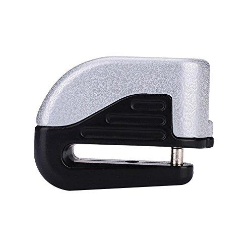 Anti Thief Alarm Electron Disc Brake Security Lock for Motorcycle Motorbike Bicycle Sport Racing Bike, (Gray)
