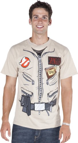 Ghostbuster Egon Spengler Adult Costume T-Shirt - Large ()