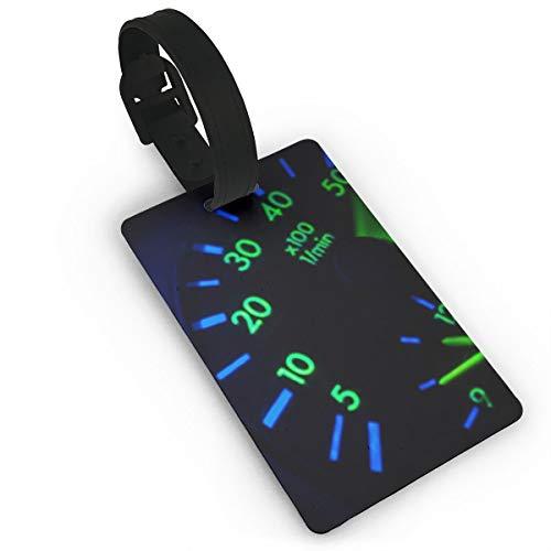 Kla Ju Luggage Tags Speedometer Image Suitcases Bags Name ID Labels Travel Accessories (Best Bike Odometer App)