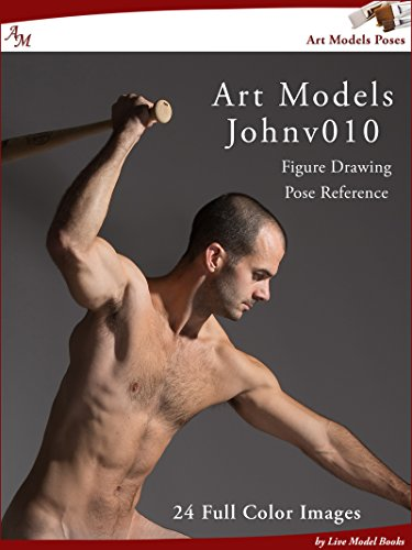 Amazon com: Art Models JohnV010: Figure Drawing Pose