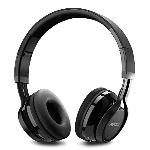 Amazon Lightning Deal 98% claimed: Mpow Thor Foldable Over-head Wireless Bluetooth Stereo Headphones Headset PC with Mic