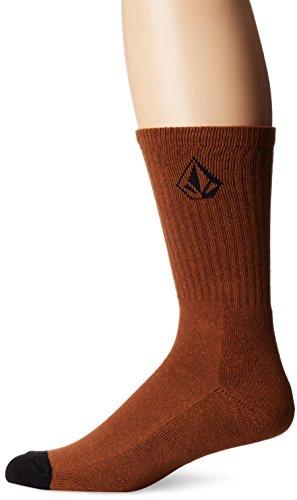 volcom-mens-full-stone-socks-rustic-brown-one-size
