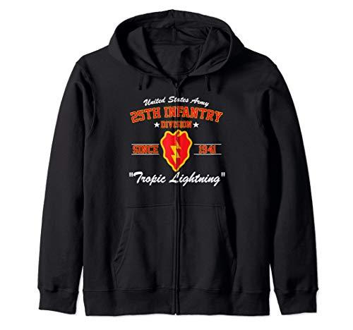 25th Infantry Division Zip Hoodie
