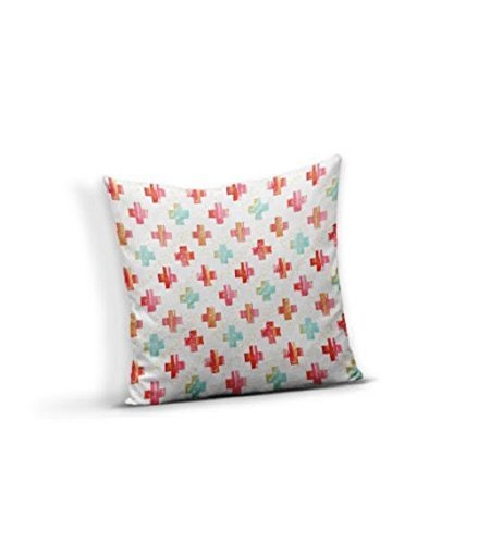 Watercolor Plus Sign Pillow Cover by Hudson Swaddles & Bedding