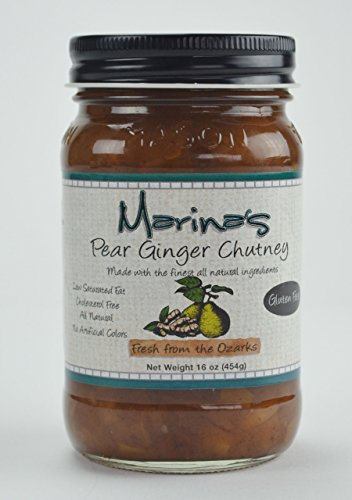 Ginger Pear Chutney (Pear Chutney)