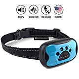 #4: Dog Bark Collar - Stop Dogs Barking Fast! Safe Anti Barking Devices Training Control Collars, Small, Medium and Large pets deterrent. No shock, remote or citronella. Sound, vibration training device