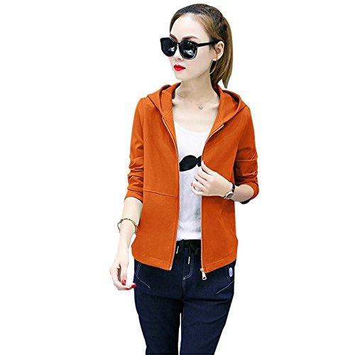 Clivia - Sudadera con capucha - para mujer naranja