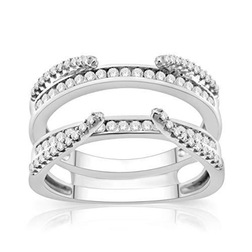 NATALIA DRAKE 10KT White Gold 1/2cttw Genuine Diamond Ring (SZ 7) ()