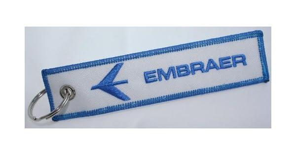 Amazon.com: Piloto Aviación Aviones Key cadena – Embraer ...