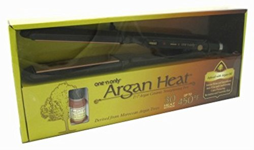 One 'n Only Argan Heat Ceramic Straightening Iron 1.5'' Canada Compliant by one 'n only