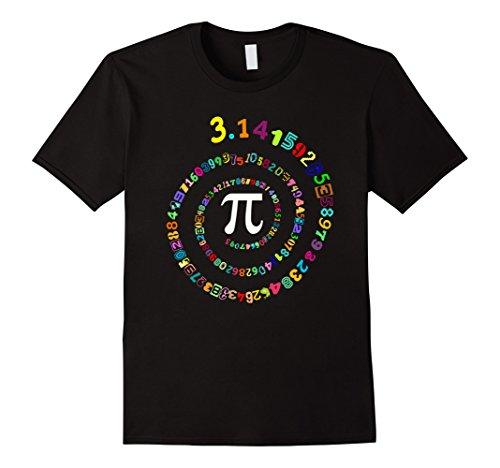 Pi Spiral Novelty Shirt for Pi Day Tshirt