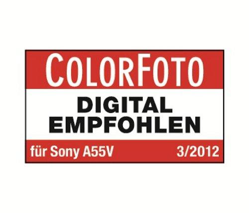 Black Sony Alpha SAL35F18 A-mount Wide Angle Lens