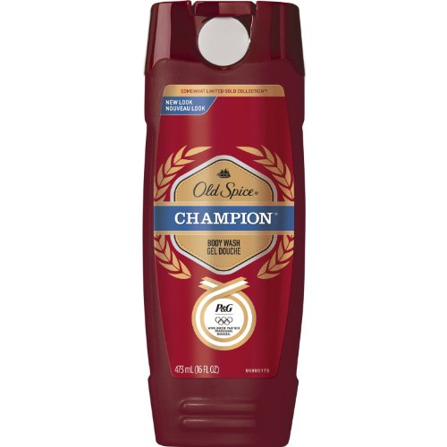 Old Spice Red Zone Champion Scent Body Wash 16 Oz (Pack of 3) (Champion Body Wash Old Spice)