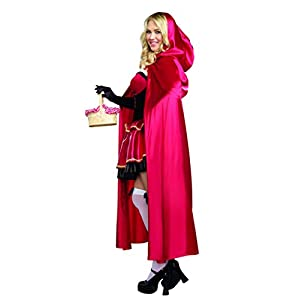 Dreamgirl Women's Plus-Size Little Red Riding Hood Costume