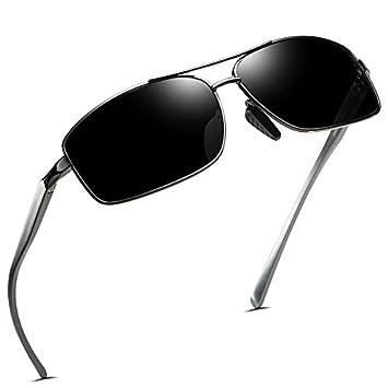 HHHKY&T Gafas De Sol Polarizadas Los Hombres Gafas De Sol Prejuicios Masculinos Gafas Óptica Drivers Gafas