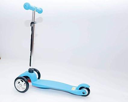 Mini Maxi niños altura ajustable patinete de ruedas LED ...