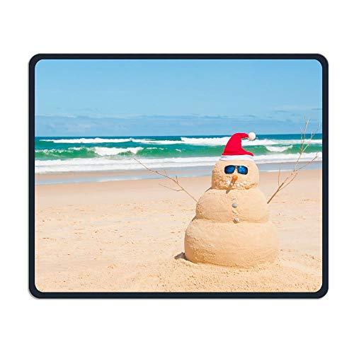 Computer Gaming Mouse Pad Australia Beach Snowman Laptop