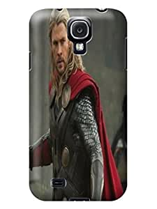 The best selling tpu phone cose cover with illustration for Samsung Galaxy s4 of Chris Hemsworth Thor in Fashion E-Mall